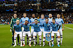 The Manchester City team before the UEFA Champions League match against Shakhtar Donetsk at the Etihad Stadium, Manchester. Picture date: 26th November 2019. Picture credit should read: Darren Staples/Sportimage