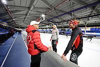 SPEEDSKATING: CALGARY: Olympic Oval, 30-11-2017, ISU World Cup, Bart Schouten, Ted-Jan Bloemen (CAN), ©photo Martin de Jong