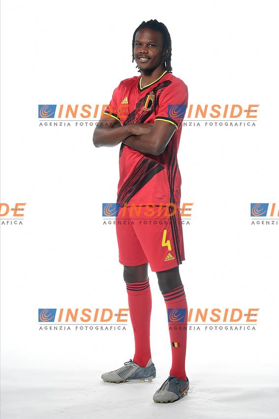 Dedryck Boyata defender of Belgium  <br /> Tubize 12/11/2019 <br /> Calcio presentazione della nuova maglia della Nazionale del Belgio <br /> Photo De Voecht  Kalut/Photonews/Panoramic/insidefoto<br /> ITALY ONLY
