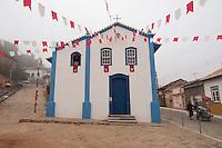 SÃO LUIZ DO PARAITINGA, SP, 27 DE MAIO DE 2012 - FESTA DO DIVINO - Igreja das Mercês enfeitada para a Festa do Divino de São Luiz do Paraitinga, que acontece neste final de semana. FOTO: LEVI BIANCO - BRAZIL PHOTO PRESS