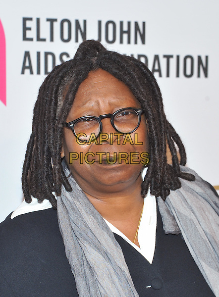 New York,NY-November 2: Whoopi Goldberg  attend Elton John AIDS Foundation's 14th Annual An Enduring Vision Benefit at Cipriani Wall Street on November 2, 2015 in New York City.. <br /> CAP/MPI/STV<br /> &copy;STV/MPI/Capital Pictures