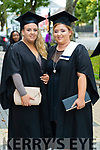 Annmarie O'Connor, Castleisland and Arlene Breheny, Galway who graduated in Childcare Disabilities Level 6 at the Kerry College of Further Education Graduations at the Brandon Hotel on Thursday.