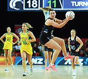 5th October 2017, Spark Arena, Auckland, New Zealand; Constellation Cup, New Zealand Silver Ferns versus Australia Diamonds;   New Zealand wing attack Gina Crampton