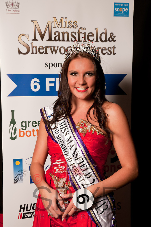 Winner of Miss Mansfield 2012-13 Alice Kurylo