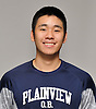 Daniel Kim of Plainview JFK poses for a portrait during the Newsday All-Long Island varsity boys volleyball photo shoot at company headquarters on Tuesday, Dec. 6, 2016.