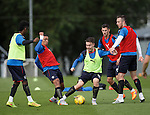 Barrie McKay beating everyone at training