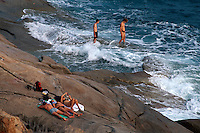 Italien, Elba, Felsstrand bei Seccheto