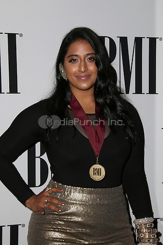 BEVERLY HILLS, CA - MAY 10: Raja Kumari attends the 64th Annual BMI Pop Awards held at the Beverly Wilshire Four Seasons Hotel on May 10, 2016 in Beverly Hills, California.Credit: AMP/MediaPunch.