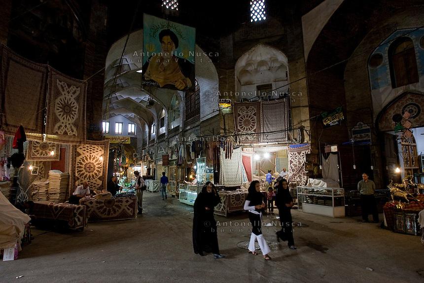 The Great Bazaar Mosque in Esfahan, Iran May 4,  2007.
