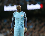 Yaya Toure of Manchester City during the Premier League match at the Etihad Stadium, Manchester. Picture date: December 3rd, 2016. Pic Simon Bellis/Sportimage