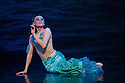 Coventry, UK. 13.03.2014. Christopher Moore's Ballet Theatre UK presents the premiere of THE LITTLE MERMAID, which opens in Coventry's Albany Theatre, prior to a UK tour. The company comprises: Natalie Cawte, Helena Casado Cortes, Claire Corruble, Julia Davies, Ines Ferreira, Jessica Hill, Sarah Mortimer, Kazuka Oike, David Brewer, Vincent Cabot, Joseph-Mackie Graves, Luca Varone. Picture shows: Sarah Mortimer. Photograph © Jane Hobson.