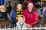 Ita Moloney, Lucas Neher, and Bill Purser, pictured at the AIB Munster Club SFC final Dr. Crokes v The Nire, Waterford, held in Mallow on Sunday last.