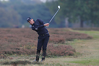 Danny Willett (ENG) on the 12th during Round 1of the Sky Sports British Masters at Walton Heath Golf Club in Tadworth, Surrey, England on Thursday 11th Oct 2018.<br /> Picture:  Thos Caffrey | Golffile<br /> <br /> All photo usage must carry mandatory copyright credit (© Golffile | Thos Caffrey)