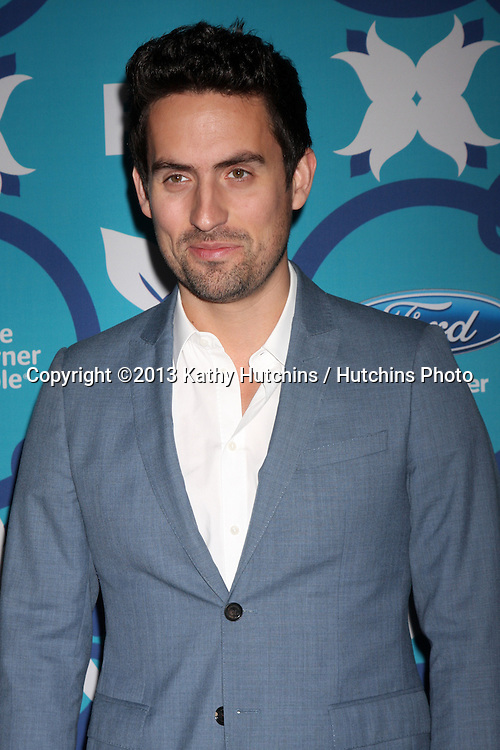 LOS ANGELES - SEP 9:  Ed Weeks at the FOX Fall Eco-Casino Party at The Bungalow on September 9, 2013 in Santa Monica, CA
