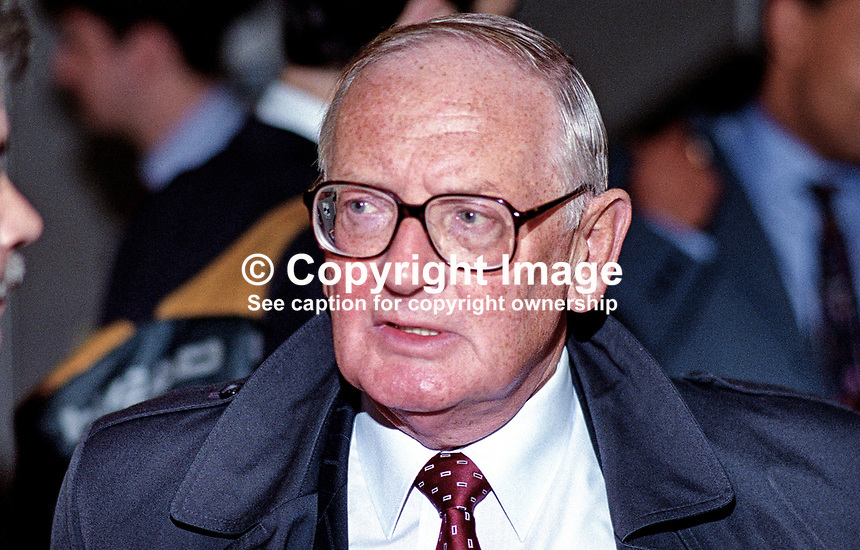John Freeman, T&amp;GWU official, Belfast, N Ireland, UK, 199509057.<br /> <br /> Copyright Image from Victor Patterson,<br /> 54 Dorchester Park, <br /> Belfast, UK, BT9 6RJ<br /> <br /> t1: +44 28 9066 1296 (from Rep of Ireland 048 9066 1296)<br /> t2: +44 28 9002 2446 (from Rep of Ireland 048 9002 2446)<br /> <br /> m: +44 7802 353836<br /> <br /> e: victorpatterson@me.com<br /> www.victorpatterson.com<br /> <br /> Please see my Terms and Conditions of Use at www.victorpatterson.com. It is IMPORTANT that you familiarise yourself with them.<br /> <br /> Images used on the Internet must be visibly watermarked i.e. &copy; Victor Patterson<br /> within the body of the image and copyright metadata must not be deleted. Images <br /> used on the Internet have a size restriction of 4kbs and will be chargeable at current<br />  NUJ rates unless agreed otherwise.<br /> <br /> This image is only available for the use of the download recipient i.e. television station, newspaper, magazine, book publisher, etc, and must not be passed on to any third <br /> party. It is also downloaded on condition that each and every usage is notified within 7 days to victorpatterson@me.com<br /> <br /> The right of Victor Patterson to be identified as the author is asserted in accordance with The Copyright Designs And Patents Act (1988). All moral rights are asserted.