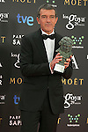 Antonio Banderas attend the 2015 Goya Award Winners Photocall at Auditorium Hotel, Madrid,  Spain. February 08, 2015.(ALTERPHOTOS/)Carlos Dafonte)