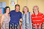 Emer O'Riordan Charleville, Pat O'Shea Caherciveen, Patricia Lane and Mike Murphy Abbeyfeale dancing at the ceili? in Brosna Hall during the Con Curtin festival on Sunday