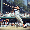 Baltimore Orioles Boog Powell (26) during a game from his 1968 season with the Baltimore Orioles.  Boog Powell played for 17 years with the 3-different teams, was a 4-time All-Star and the 1970 American League MVP.