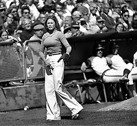 Oakland A's ball girl...Debbie Sivyer AK (Mrs. Fields).(photo 1972 Ron Riesterer)