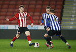 Stephen Mallon of Sheffield Utd during the Professional Development League match at Bramall Lane, Sheffield. Picture date: 26th November 2019. Picture credit should read: Simon Bellis/Sportimage