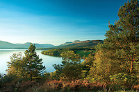 Ben Lomond and Loch Lomond from Craigie Fort above Balmaha, Loch Lomond and the Trossachs National Park, Stirlingshire