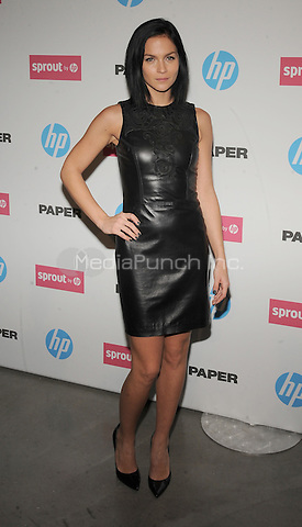 New York,NY- October 29: Leigh Lezark attends the red carpet at the Sprout by HP and HP Multi Jet Fusion 3D Printer Launch Event in New York City on October 29,2014.  Credit: John Palmer/MediaPunch