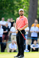 Joost Luiten (NED) on the 11th during round 3 of the 2016 BMW PGA Championship. Wentworth Golf Club, Virginia Water, Surrey, UK. 28/05/2016.<br /> Picture Fran Caffrey / Golffile.ie<br /> <br /> All photo usage must carry mandatory copyright credit (© Golffile   Fran Caffrey)