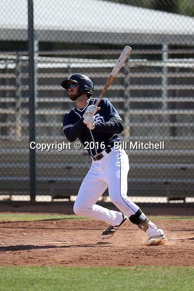 Chase Jensen - San Diego Padres 2016 spring training (Bill Mitchell)