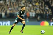 1st November 2017, Wembley Stadium, London, England; UEFA Champions League, Tottenham Hotspur versus Real Madrid; Achraf Hakimi of Real Madrid