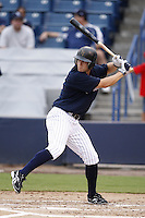 July 10, 2009:  Center fielder Damon Sublett of the Tampa Yankees during a game at George M. Steinbrenner Field in Tampa, FL.  Tampa is the Florida State League High-A affiliate of the New York Yankees.  Photo By Mike Janes/Four Seam Images