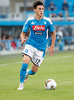 27th October 2019; Stadio Paolo Mazza, Ferrara, Emilia Romagna, Italy; Serie A Football, SPAL versus Napoli; Eljif Elmas of Napoli controls the ball - Editorial Use