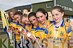 WINNERS: The Ballydesmond Under 15 Community Games Handball Team that won the National Community Ga,es title in Cavan last week..Right to left;.Catriona Casey,Siobhan Clifford, Mairead Brosnan, Aisling O'Keeffe,  Shauna Kelly and.Karina Cronin.   Copyright Kerry's Eye 2008