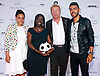 BORIS BECKER, SON NOAH BECKER WITH AUMA OBAMA AND DAUGHTER AKINYI.Mercedes Benz Fashion Week, Berlin_5/07/2012..MANDATORY PHOTO CREDIT: ©Mercedes/NEWSPIX INTERNATIONAL . .(Failure to by-line the photograph will result in an additional 100% reproduction fee surcharge. You must agree not to alter the images or change their original content)..            *** ALL FEES PAYABLE TO: NEWSPIX INTERNATIONAL ***..IMMEDIATE CONFIRMATION OF USAGE REQUIRED:Tel:+441279 324672..Newspix International, 31 Chinnery Hill, Bishop's Stortford, ENGLAND CM23 3PS.Tel: +441279 324672.Fax: +441279 656877.Mobile: +447775681153.e-mail: info@newspixinternational.co.uk