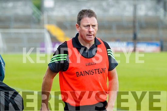 Jimmy Keane Kerry Manager: Kerry v Limerick in the Munster Junior Football Championship Semi Final in Ennis on Sunday.