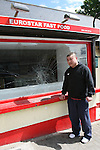 Kevin Liu outside his Fast Food Restaurant, Eurostar in Clogherhead where he was viciously assaulted on Tuesday evening...Photo NEWSFILE/Jenny Matthews.(Photo credit should read Jenny Matthews/NEWSFILE)....This Picture has been sent you under the condtions enclosed by:.Newsfile Ltd..The Studio,.Millmount Abbey,.Drogheda,.Co Meath..Ireland..Tel: +353(0)41-9871240.Fax: +353(0)41-9871260.GSM: +353(0)86-2500958.email: pictures@newsfile.ie.www.newsfile.ie.FTP: 193.120.102.198.