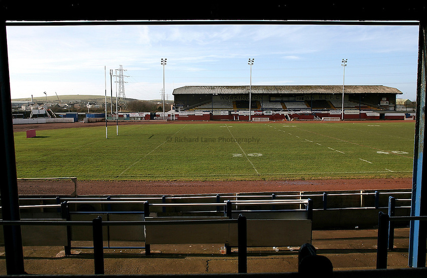 Photo: Paul Thomas..20/02/2007.Workington Rugby League Club.General view
