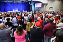 MIAMI, FLORIDA - JANUARY 03: Evangelical supporters of U.S. President Donald Trump are being led in prayers inside the El Rey Jesus church during a 'Evangelicals for Trump' campaign event held at the King Jesus International Ministry on January 03, 2020 in Miami, Florida. The rally was announced after a December editorial published in 'Christianity Today' called for  President Trump's removal from office. And, the rally come a day after the U.S. announced that it killed Iran's top military leader Gen. Qasem Soleimani in a surprise airstrike in Baghdad.   ( Photo by Johnny Louis / jlnphotography.com )