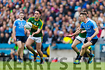 Jack Savage Kerry in action against Darren Daly Dublin at the National League Final in Croke Park on Sunday.