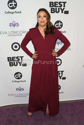 LOS ANGELES, CA - NOVEMBER 8: Eva Longoria at the Eva Longoria Foundation Dinner Gala honoring Zoe Saldaña and Gina Rodriguez at The Four Seasons Beverly Hills in Los Angeles, California on November 8, 2018. Credit: Faye Sadou/MediaPunch