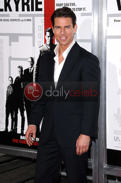 Tom Cruise <br /> at the Los Angeles Premiere of 'Valkyrie'. The Directors Guild of America, Los Angeles, CA. 12-18-08<br /> Dave Edwards/DailyCeleb.com 818-249-4998