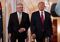Donald Trump and Scott Morrison Joint Press Conference