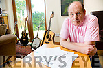 Davey Arthur of the Fureys & Davey Arthur fame pictured at his home in Cloghanelinaghan, Cahersiveen being threatened with repossession by Vulture Capitalists.