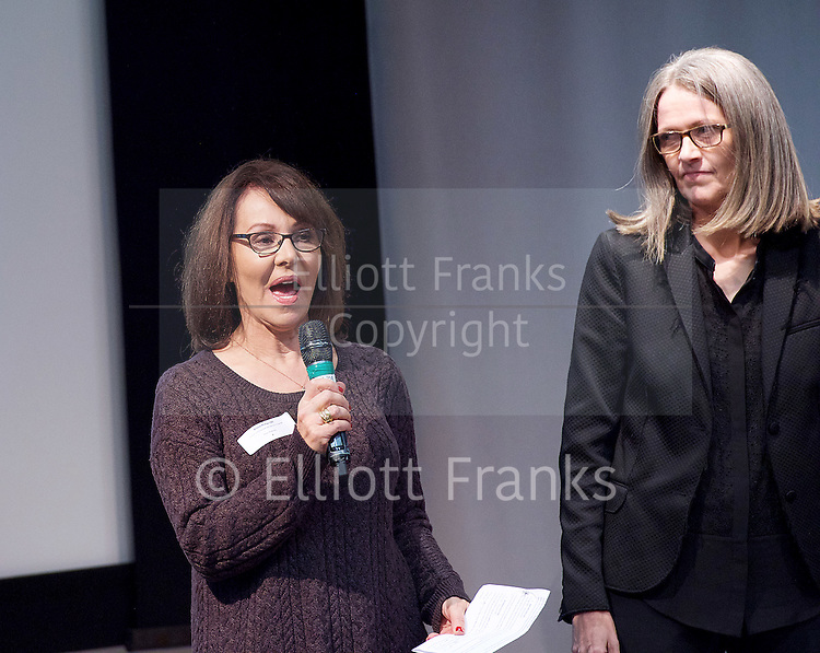 New national dance industry body launched and name announced - One Dance UK<br /> at the Royal Society of Medicine, London, Great Britain <br /> 7th December 2015 <br /> <br /> Arlene Phillips CBE<br /> <br /> patron <br /> <br /> <br /> Photograph by Elliott Franks <br /> Image licensed to Elliott Franks Photography Services