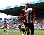 Leon Clarke of Sheffield Utd during the Championship match at the Hillsborough Stadium, Sheffield. Picture date 24th September 2017. Picture credit should read: Simon Bellis/Sportimage