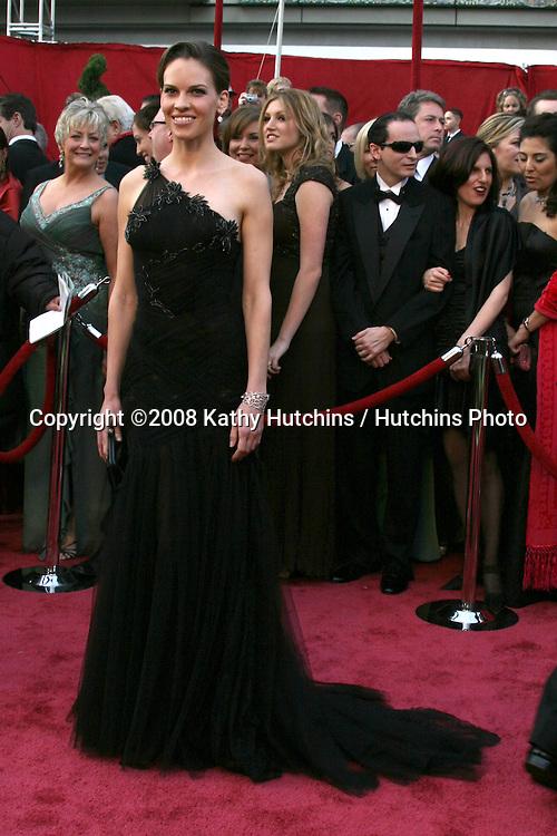 Hillary Swank.80th Academy Awards ( Oscars).Kodak Theater.Los Angeles, CA.February 24, 2008.©2008 Kathy Hutchins / Hutchins Photo.