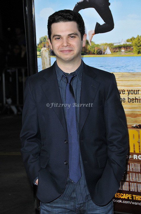 Samm Lavine at the World Premiere of Wanderlust held at the Mann Village in Westwood, CA.. February 16, 2012