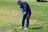 Pablo Larrazabal (ESP) on the 1st fairway during Round 3 of the Open de Espana 2018 at Centro Nacional de Golf on Saturday 14th April 2018.<br /> Picture:  Thos Caffrey / www.golffile.ie<br /> <br /> All photo usage must carry mandatory copyright credit (&copy; Golffile | Thos Caffrey)