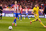 Atletico de Madrid's player Sime Vrsaljko and CF Rostov's player Vladimir Granat during a match of UEFA Champions League at Vicente Calderon Stadium in Madrid. November 01, Spain. 2016. (ALTERPHOTOS/BorjaB.Hojas)