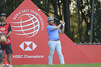 Louis Oosthuizen (RSA) on the 17th tee during the final round of the WGC HSBC Champions, Sheshan Golf Club, Shanghai, China. 03/11/2019.<br /> Picture Fran Caffrey / Golffile.ie<br /> <br /> All photo usage must carry mandatory copyright credit (© Golffile | Fran Caffrey)