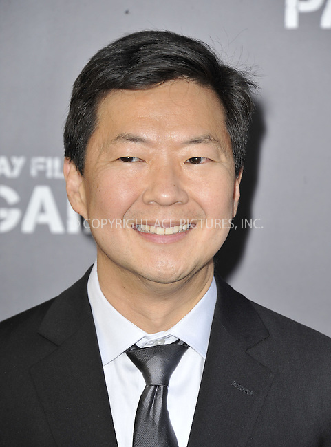 WWW.ACEPIXS.COM....April 22 2013, LA....Ken Jeong arriving at the 'Pain & Gain' premiere held at TCL Chinese Theatre on April 22, 2013 in Hollywood, California. ....By Line: Peter West/ACE Pictures......ACE Pictures, Inc...tel: 646 769 0430..Email: info@acepixs.com..www.acepixs.com